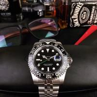 U1 공장 GMT 컬렉션의 모든 시리즈 실버 Cal.2813 오토매틱 무브먼트 사파이어 큰 달력 세라믹 베젤 낙서 남성의 손목 시계 다이얼