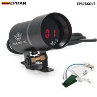 EPMAN - - 37mm METER/GAUGE Compact Digital Smoked Lens Oil Temperature Gauge Auto gauge/meter Black EP37BKOLT