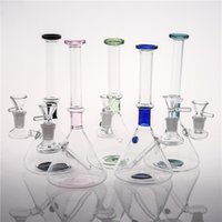 Joint 14. 4 mm Random Color Glass Bongs Cheap 21 cm Inline Pe...