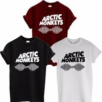 Tops para mujer women camiseta Monos de la onda acústica camiseta T-Top Rock Band Álbum de alta camiseta Camiseta unisex y color A112