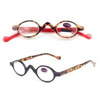 타원형 독서 안경 안경 돋보기 안경 남녀 공용 안경 독서 증폭 바늘 대기 용 선물 가벼운 안경 3 색 GGA1822