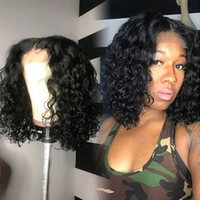 Wet And Wavy Full Lace Wigs With Baby Hair Pre Plucked Brazi...