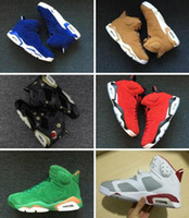 6s Gatorade Green Suede UNC Blue Golden Harvest Black cat Ca...
