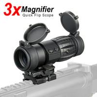 PPT光景3xスコープコンパクト狩猟リフレ島の視点21.2mmライフルレールマウントCL1-0002のためのフリップアップカバーフィット