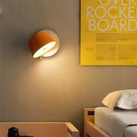 المعادن الحديثة زجاج متعدد الألوان الجدار الشمعدان طبل مصباح الجدار ديكور المنزل غرفة المعيشة غرفة نوم ضوء WA155
