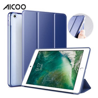 PU Auto Sleep Smart Filp Soft TPU Parachoques Estuche rígido para PC con iPad 2 3 4 5 6 Air mini 2 3 4 Pro 12.9 11 10.5 9.7 2017 2018 Opp