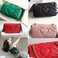 Wholesale real sheepskin bag leather online - Women Luxury shoulder bags  smooth sheepskin top end real 70a277a440e40