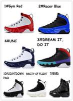 9 Gym Red Com Box 2019 criados 11 basquete sapatos concórdia com 45 9s Sonhe-fazê-lo UNC espaço compotas Sports Sneakers grátis Shippment