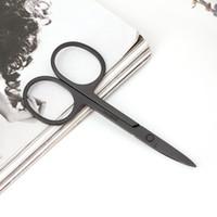 Профессиональный ножничный маникюр для ногтей, бровей, носа, ресниц, кутикулы, ножницы, изогнутый инструмент для педикюра и макияжа