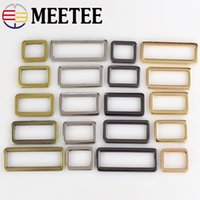 Meetee Metal D Ring belt Buckle Adjustable Connect Clip Buck...