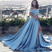 Elegant Hot Sell Ball Gown Off Shoulder Sweep Train Women Fo...