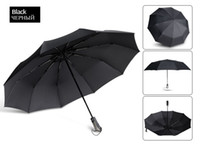 New Women Men Wind Resistant Umbrella For Rain Gift 3Folding...