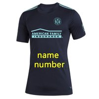 Parley MLS Atlanta United Fc Jerseys Футбольная футболка футбольная футболка 19 20 мл Parley Atlanta United Jerseys Martinez Футбол S-4XL
