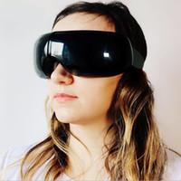 Neue Ankunft Smart-AugeMassager Luftverdichtung Augen Massage für müde Augen Beheizte Goggles Reiseetui