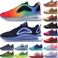 En yüksek satış ayakkabı kadın stilist koşu ayakkabıları gerçek 2.019 deniz orman pembe deniz kuzey ışıkları gün karbon gri sıcak lav 720OG erkek olmak