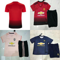 Manchester United Kids Soccer Jersey 6 POGBA 7 ALEXIS 8 MATA...