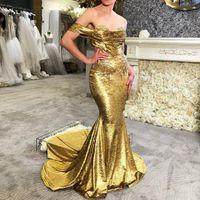 2020 Arabisch Aso Ebi Goldspitze wulstige Abendkleider Schatz-Nixe-Abschlussball-Kleid Samt-formale Partei zweiter Empfang Kleider