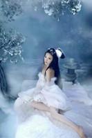 Disfraces Sexy Dance 2020Hanfu chino vestido blanco Tang ropa antigua traje de hadas Princesa magnífica traje chino Folk Da