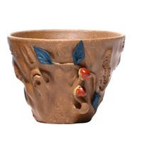 Высокого качество Керамической чашки чая специальный кунг-фу чай набор фарфора японского стиля дина- ручная роспись чашки Малой пиалы