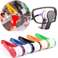 النظارات تنظيف مسح متعددة الوظائف ستوكات الدفترية دون ملاقط مبتكرة أثر النظارات الفريدة مسح تصميم الشحن المجاني
