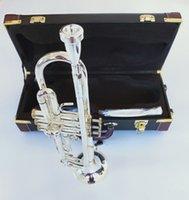 2019 Новый Бах Труба LT190S-85 музыкальный инструмент Bb Труба позолоченный профессионального класса