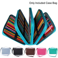 1PC 184 Slots Colored Pencil Case Large Capacity Soft and PU...