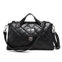 Ladies' Pu Leather Handbag Beach Bag Female Quilted Bag...