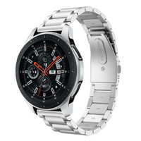 22mm 20mm cinturino cinturino per orologio in acciaio inossidabile per SAMSUNG Galaxy Watch 42 46mm GEAR S3 Gear S2 Classic sgancio rapido