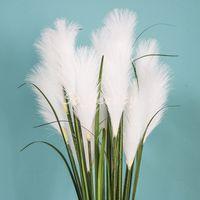 Artificielle Reed Gaze Stept 3Head 86cm Longueur Home Jardin Décor Partie Faux Fleur De Mariage Décorations Multi couleurs