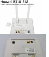Véritable Rounter Huawei B310S-518 Routeurs sans fil FDD 4G Global LTE FDD CPE B310
