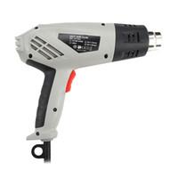 JST2502 2000W الكهربائية الحرارة المحمولة بندقية الهواء تقلص الطاقة ToolsHeat بندقية ومقبض تصميم مريح العلمي يمكن أن يمنع تكرار