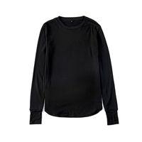 Poignets trou du pouce Manches longues Tyga Swag Style Hommes T-shirt en t-shirt en laine