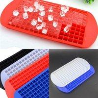 cuisine carrée moule accessoire nouveau produit 160 Mini Grids Petit 1 * 1 * 1 cm Ice Cube Tray Frozen cubes Plateau silicone machine à glaçons moule bricolage