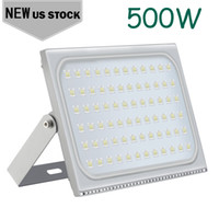 Ultrathin 500W LED FloodLights Waterproof Equivalent Super Bright Outdoor Security Lights 6000K Floodlight Ship from USA