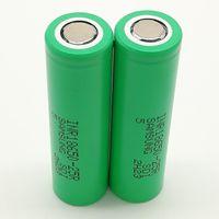 500 stücke 100% Hohe Qualität inR 25R 30Q 18650 Batterie 2500mAh IMR 3.7V für LG Sony Samsung Wiederaufladbare Lithiumbatterien Zelle