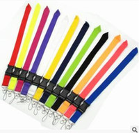 2021 Universal 12 Colors Blank Lanyard available Neck Strap ...
