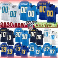 Los Angeles Csutom Austin Ekeler carregadores Junior Seau Football Jersey LaDainian Tomlinson Lance Alworth Mike Williams Denzel Perryman Portões
