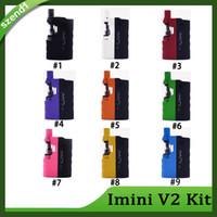 Original Imini V2 Kit 650mAh Box Mod-Batterie für dicke Ölpatronen Verdampfer 510 Gewinde-Batterie für alle Behälter