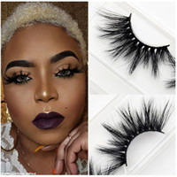 2019 NEW 25 mm 5D Mink Wimpern 18 Styles falsche Wimpern Hot natürliche lange Mink Eye Lashes Augen Make-up High Volume Weiche Dramatische Wimpern 3D