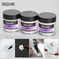 Rosalind Acrylpulver Poly-Gel für Nagellack-Nagel-Kunst-Dekorationen Kristall-Maniküre-Set Kit Profi-Nagel Accesorios