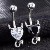 3 colori Piccola forma diacala argento 316L gioielli in acciaio inox in acciaio inox barre dell'ombelico dell'ombelico dell'anello dell'anello del bottone dell'anello dell'ombelico del corpo dell'ombelico