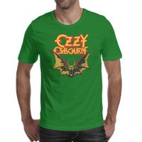 Ozzy Osbourne Diary Of A Madman maglietta verde, camicie, magliette, t-shirt stampa divertente cool t designer pazzo band casual t shirt