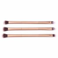 Ein Stück Neue Professionelle Make-Up Lidpuder Foundation Lidschatten Doppelseitige Lidschatten Pinsel Werkzeug