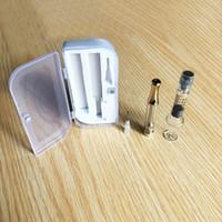 1 мл стеклянные шприцы без утечки Vape картриджи многоразового испарителя картриджи AC1003 стеклянный бак толстый масляный распылитель экзотические тележки