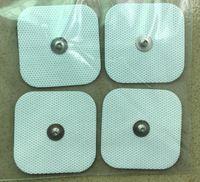 40 stks vierkante vervanging elektrode pads 5x5cm snap voor tienen EMS-eenheden Compex spierstimulator Empi Machine