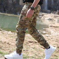 Men's Pants Army Tactical Tide Jogger Summer Archon Waterproof Camouflage Ankle-length Men Wear-resistant Casual Trousers