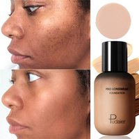 العلامة التجارية Pudaier 40 ألوان السائل المخفي قاعدة ماكياج الوجه الإنتعاش مؤسسة العين الهالات السوداء كونتور ماكياج ماركة مستحضرات التجميل