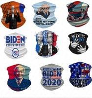 Biden 2020 Bufanda de ciclo digitales impresas Mujeres Hombres Deportes Máscara de ciclo al aire Montar cuello magia turbante adulto Máscaras D61604