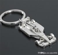 3D F1 Racing Car Keychain liga de zinco Arrefecer Keyring Anel Keyfob Key suporte do carro Chaveiros Sports Chaveiro keychain2018