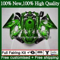 Karosserie für YAMAHA Thundercat YZF600R 02 03 04 05 06 07 86MF28 YZF 600R YZF-600R 2002 2003 2004 2005 2006 2007 Glänzende grüne Verkleidung